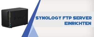 Synology FTP Konfiguration