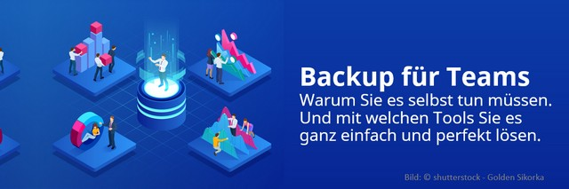 Backup für Teams